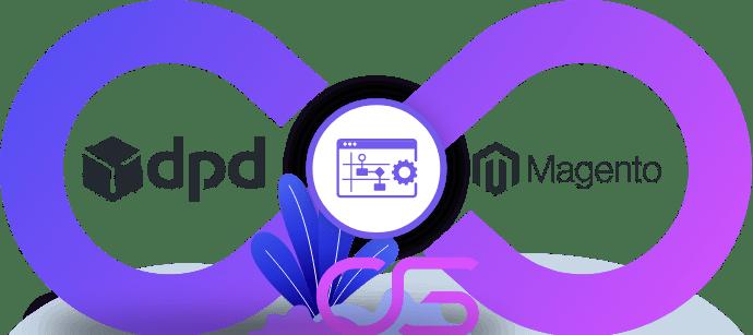 DPD koeriersdienst integreren met webshop magento