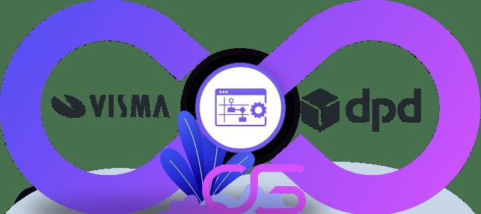 DPD koeriersdienst integreren met ERP Visma