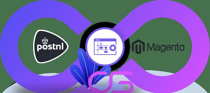 PostNL vervoerder koppeling integratie met Magento webshop