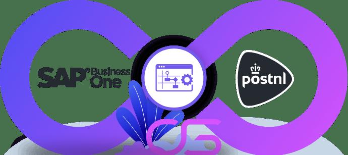 PostNL vervoerder koppeling integratie met SAP ERP