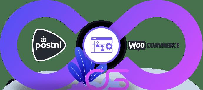 PostNL vervoerder koppeling integratie met WooCommerce webshop