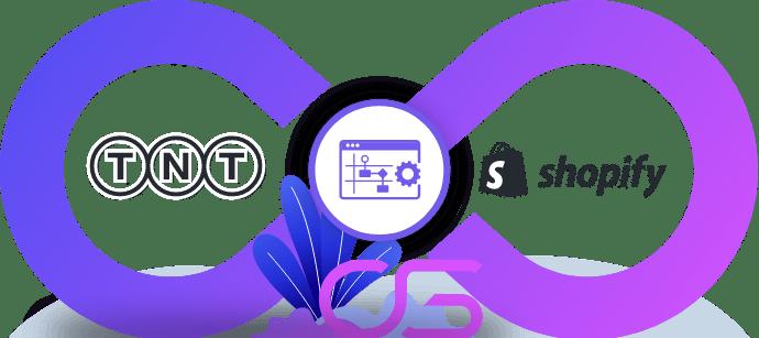 TNT automatiseren met Shopify Webshop