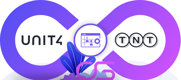TNT automatiseren met Unit4 ERP systeem