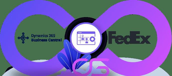 koeriersdienst FedEx met ERP Microsoft Dynamics 365 Business Central integreren