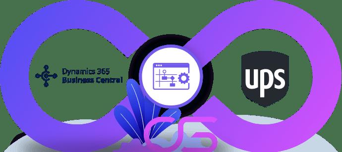 koeriersdienst UPS met ERP Microsoft Dynamics 365 Business Central integreren