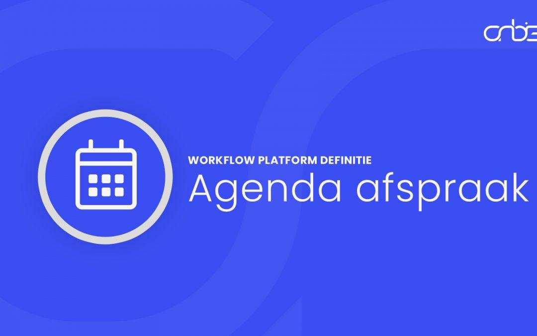 Agenda Afspraak definitie
