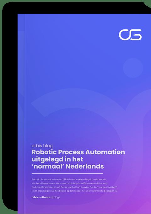 Blog, Robotic Process Automation uitgelegd in het normaal Nederlands