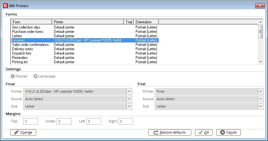 Exact Globe Integration Tool - Printoutput naar formulierspecifieke printer sturen middels de Exact Globe Integration Tool. 1