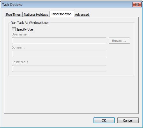 Exact Globe Integration Tool - Standaardinstellingen voor integration tool stappen met print output. 2