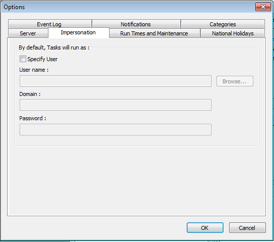 Exact Globe Integration Tool - Standaardinstellingen voor integration tool stappen met print output. 3