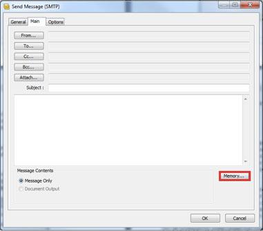 Gebruik geheugen in BPA Platform stappen 1