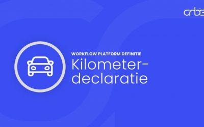 Kilometer declaratie definitie
