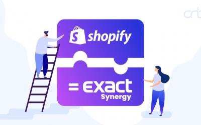 Shopify – Exact Synergy Integratie