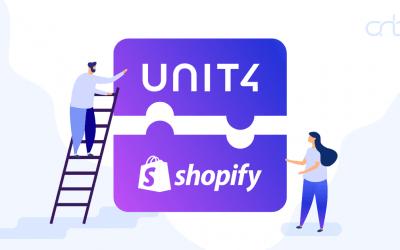 Unit4 – Shopify integratie