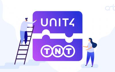 TNT – Unit4 integratie
