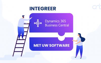 Microsoft Dynamics 365 Business Central integratie