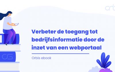 ebook – Verbeter de toegang tot bedrijfsinformatie door de inzet van een webportaal